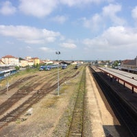 Photo taken at Gare SNCF de Roanne by Michael D. on 6/19/2014