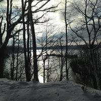 Photo taken at Eagle Creek Park by Andrew K. on 12/27/2012