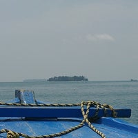 Photo taken at Private Island Semak Daun by QuickQ อ. on 10/19/2013