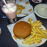 Photo taken at Johnny Rockets by Jim G. on 1/26/2014