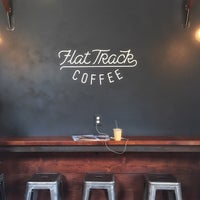 Photo taken at Flat Track Coffee by Jane K. on 4/13/2015