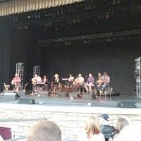 Photo taken at Sandy Amphitheatre by Jason S. on 8/24/2014