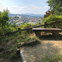 Photo taken at 牧水の滝 by T on 7/14/2018