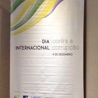 Photo taken at Tribunal de Contas do Municipio do Rio de Janeiro by Renata C. on 12/9/2014