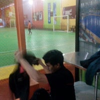 Photo taken at Vidi Arena Futsal by Ikram R. on 1/22/2014