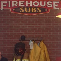 Photo taken at Firehouse Subs by Michael D. on 3/13/2014