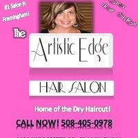 Photo taken at The Artistic Edge Hair Salon by Jennifer B. on 1/28/2014