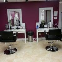 Photo taken at The Artistic Edge Hair Salon by Jennifer B. on 1/23/2014