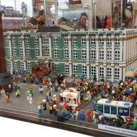 Снимок сделан в GameBrick. музей-выставка моделей из кубиков LEGO пользователем Natalia K. 3/11/2017