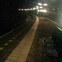 Photo taken at Station Overveen by Charlotte v. on 2/25/2014