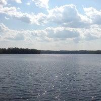 Photo taken at Lake Pokegama by Nathan D. on 7/3/2013