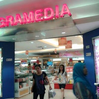 Photo taken at Gramedia by agus b. on 4/2/2014