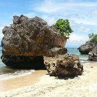 Снимок сделан в Padang-Padang Beach пользователем Михаил С. 1/28/2014