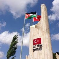 Photo taken at Salt Türk Şehitliği by Abdullah P. on 5/10/2014