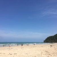Photo taken at Tung Wua Laen Beach by ⓟ on 4/12/2018