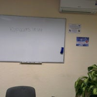"Photo taken at Учебный Центр ""Курсор"" by Aristarh R. on 3/12/2014"
