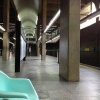 Photo taken at Ana Rosa Station (Metrô) by Cris M. on 10/12/2012