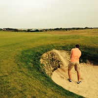 Photo taken at Marine-Golf-Club Sylt by Sebastian W. on 6/7/2014