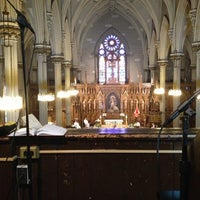 Photo taken at St. Patrick's Old Cathedral by Bonnie M. on 6/2/2013