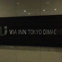 Photo taken at Via Inn Tokyo Oimachi by kan .. on 2/10/2013