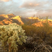 Photo taken at Sabino Canyon Recreation Area by Rachel G. on 12/25/2012