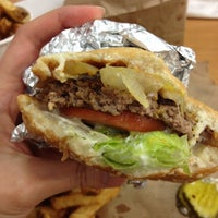 Photo taken at Five Guys by Rachel S. on 11/21/2012