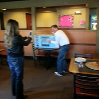 Photo taken at Round Table Pizza by Scotchie C. on 1/12/2013