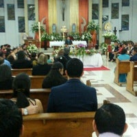 Photo taken at Iglesia De Los Angeles by Migue A. on 3/27/2016
