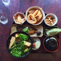 Photo taken at お食事処 亀山家 by Juan on 5/2/2015
