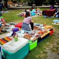 Das Foto wurde bei Thaiwiese im Preußenpark von Juan am 7/14/2013 aufgenommen