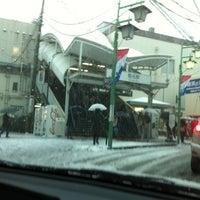 Photo taken at Tokyu Kikuna Station by Tatsuro M. on 1/14/2013