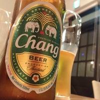 Photo taken at タイのごはんカフェ Baan Tawan by Yudai K. on 10/2/2013