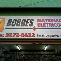 Photo taken at Borges Materiais Elétricos by Douglas B. on 2/4/2014