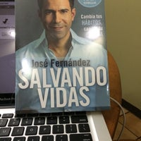 Photo taken at Libreria Internacional Plaza Mayor by Irene K. on 4/24/2014