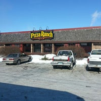 Photo taken at Pizza Ranch by Paul N. on 2/10/2014
