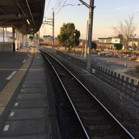 Photo taken at Bushu-Karasawa Station by yuki m. on 12/19/2016