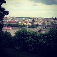 Photo taken at Letná Beer Garden by David M. on 6/8/2013