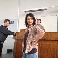 Photo taken at Аудитория 622 by Oxana T. on 2/17/2014