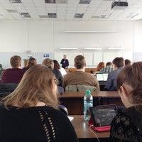 Photo taken at Аудитория 622 by Oxana T. on 4/15/2014