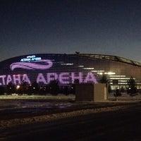 Photo taken at Astana Arena by SERG on 3/14/2015