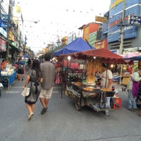 Photo taken at Chiang Rai Walking Street by Nuttee T. on 5/30/2015