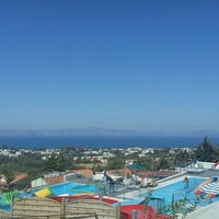 Photo taken at Aegean View Aqua Resort by Valentina K. on 10/1/2012