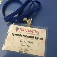 Photo taken at Matematik Bölümü by Şeyma Y. on 8/19/2017