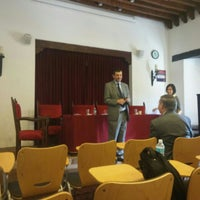 Photo taken at Aula Magna by Gabriela M. on 4/1/2016