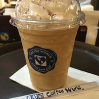 Photo taken at Coffee World by Nutz_ka on 5/9/2016