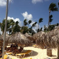 Photo taken at Pool Iberostar Punta Cana & Dominicana by Jason H. on 4/21/2013
