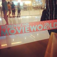 Photo taken at Robinsons MovieWorld by Bullit B. on 4/14/2013