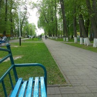 Photo taken at Центральный парк by Виктор Ч. on 5/12/2014