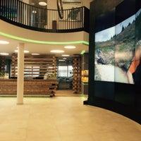 Photo taken at Tourist Office Saalbach Hinterglemm by Lena P. on 6/25/2015