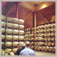 Photo taken at Cakebread Cellars by Ray E. on 1/13/2013